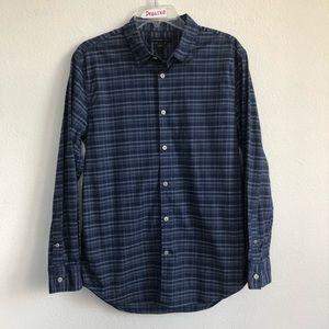 John Varvatos USA Luxe Plaid Button Down LS Shirt